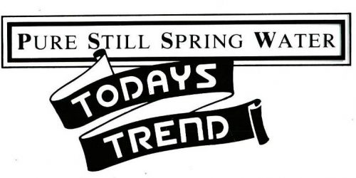 Todays Trend – Pure Spring Water